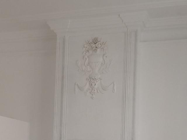 Hôtel de Grasset - Pézenas - XVIe - Réfection des cheminées