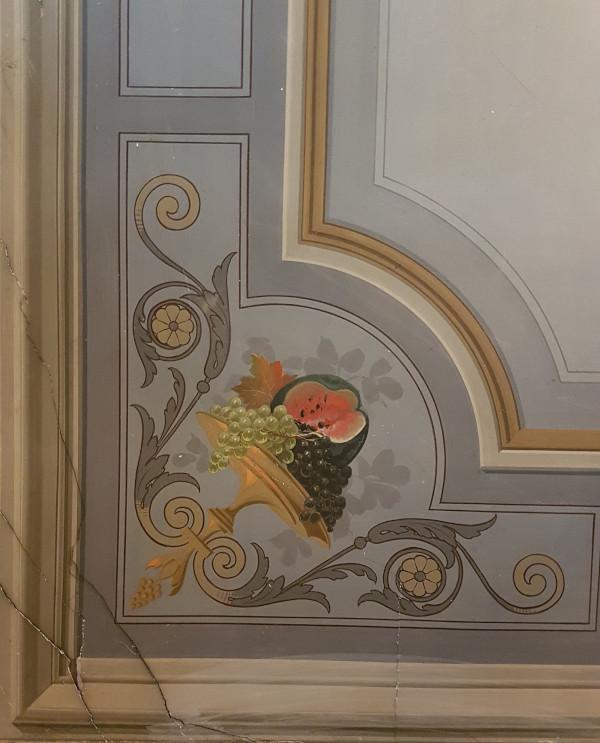 Décor peint - XIXe - Avignon