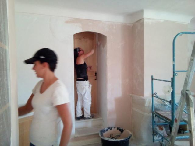 Décoration peinture murale - Peinture au plâtre