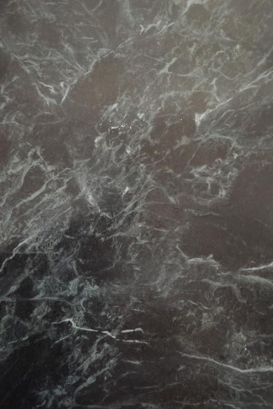 Faux marbre - Vert de mer - Peinture à l'huile