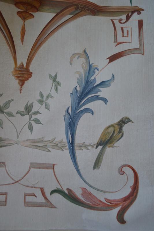 Grotesque - Peinture à la caséine