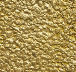 Enduit décoratif - décoration peinture murale - texture pépites d'or