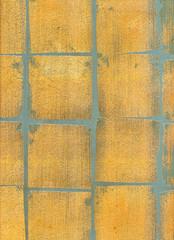 Décoration peinture murale - Feuille d'or